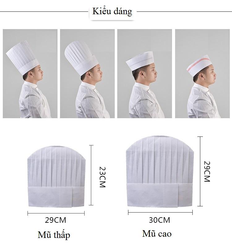 Mũ bếp giấy Mantis