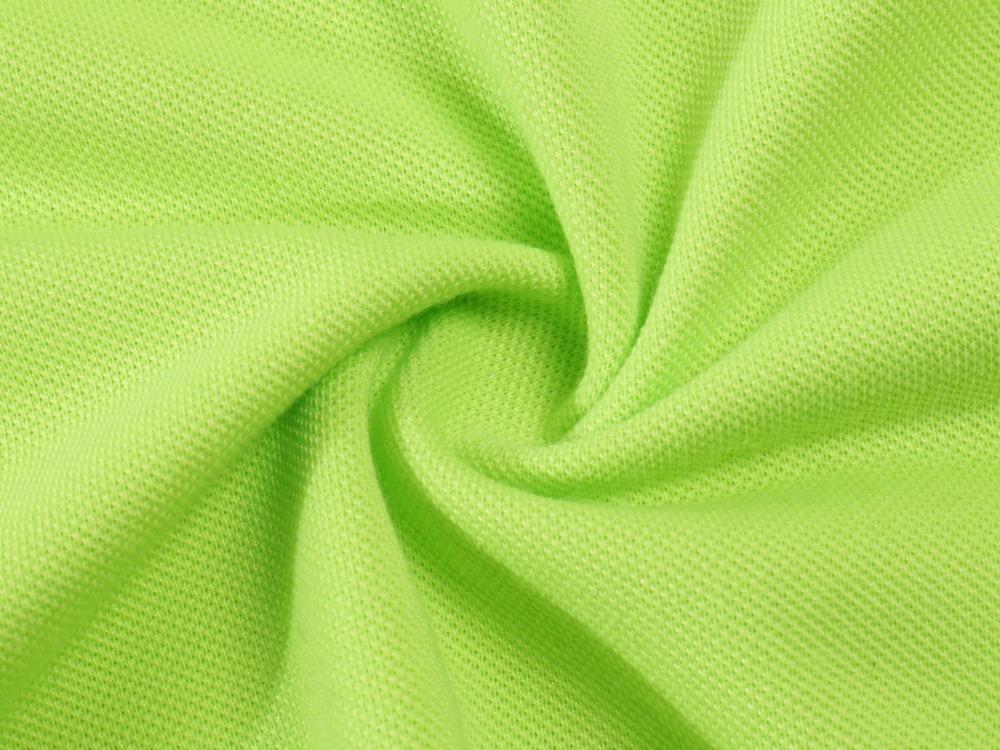 vải áo phông cá sấu mầu xanh cốm