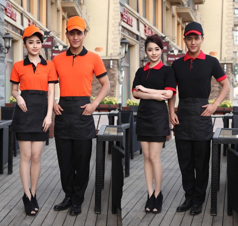 đồng phục áo phông phục vụ