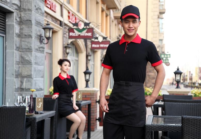 áo phông nhà hàng khách sạn