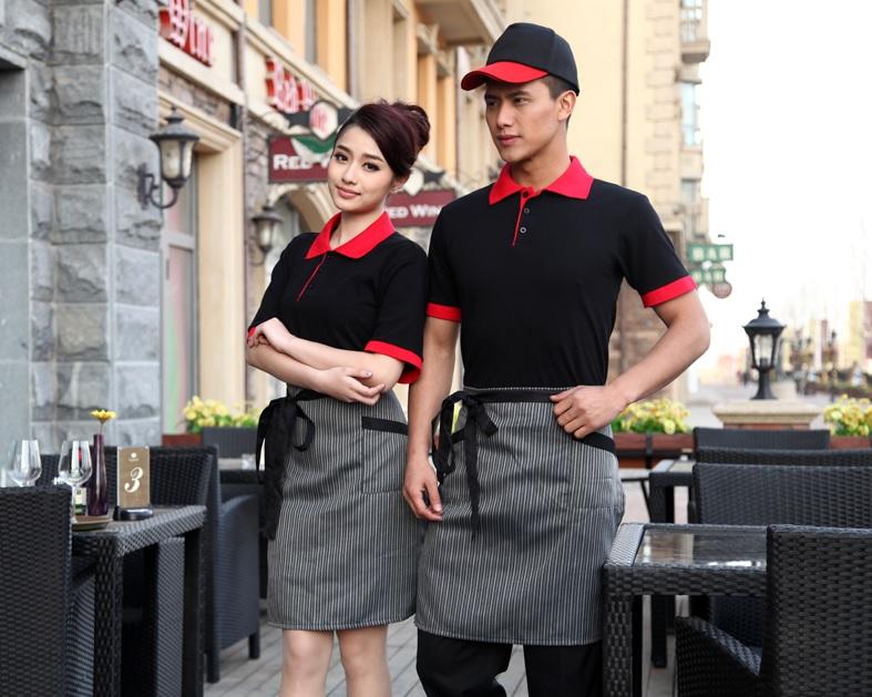 đồng phục áo phông nhân viên nhà hàng