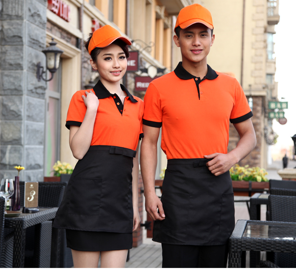 mẫu áo phông nhà hàng đẹp