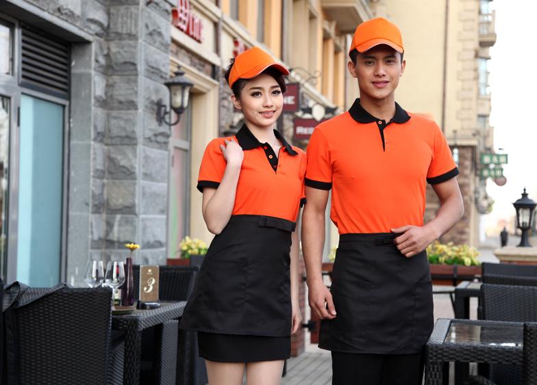 xưởng may áo phông nhà hàng