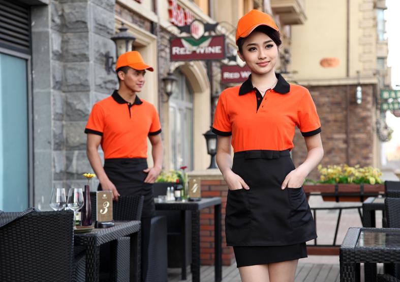 đồng phục áo phông nhà hàng khách sạn đẹp