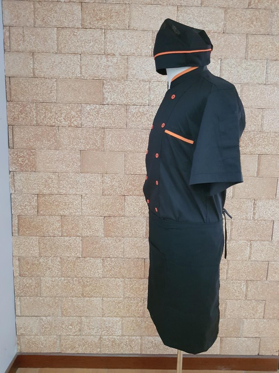 bán áo bếp đen tại hà nội