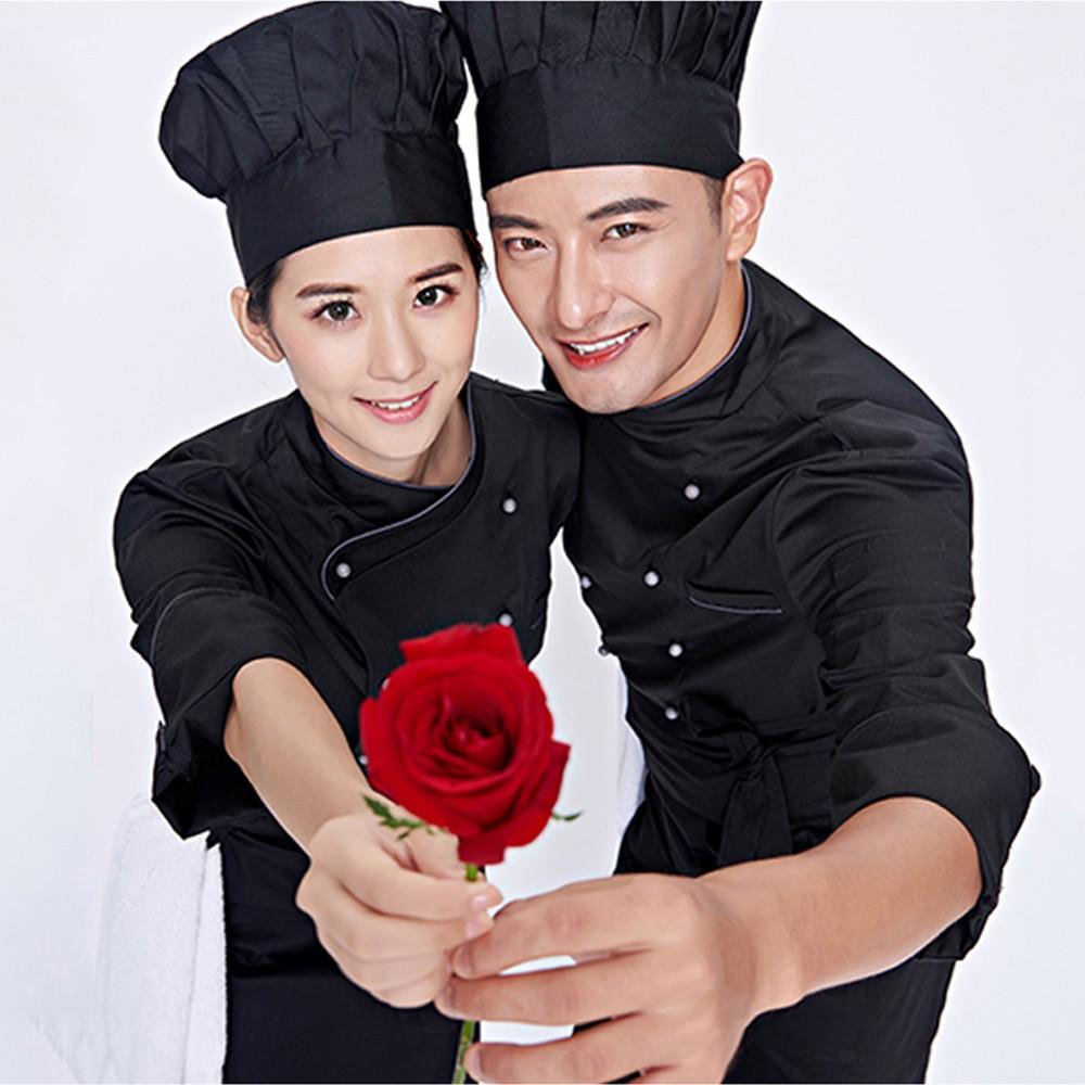 May áo bếp màu đen giá rẻ