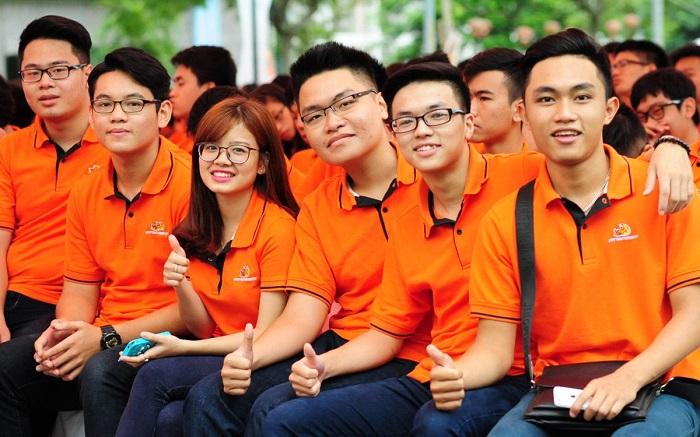 Đồng phục áo lớp màu cam