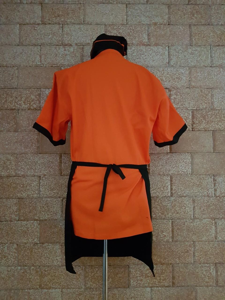 đồng phục đầu bếp có sẵn ở hà nội