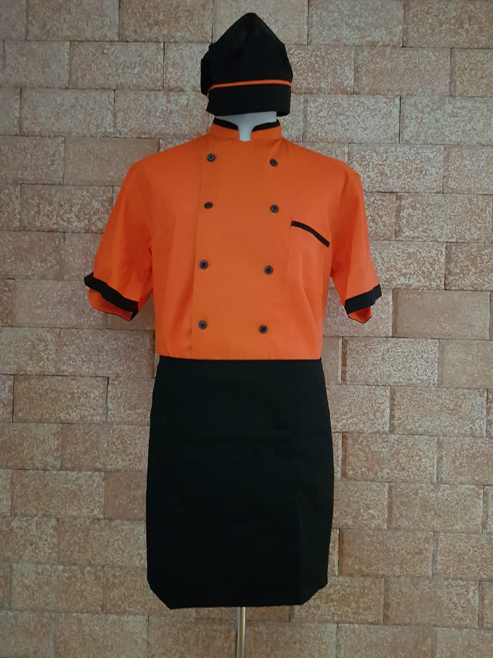đồng phục đầu bếp có sẵn ở tphcm