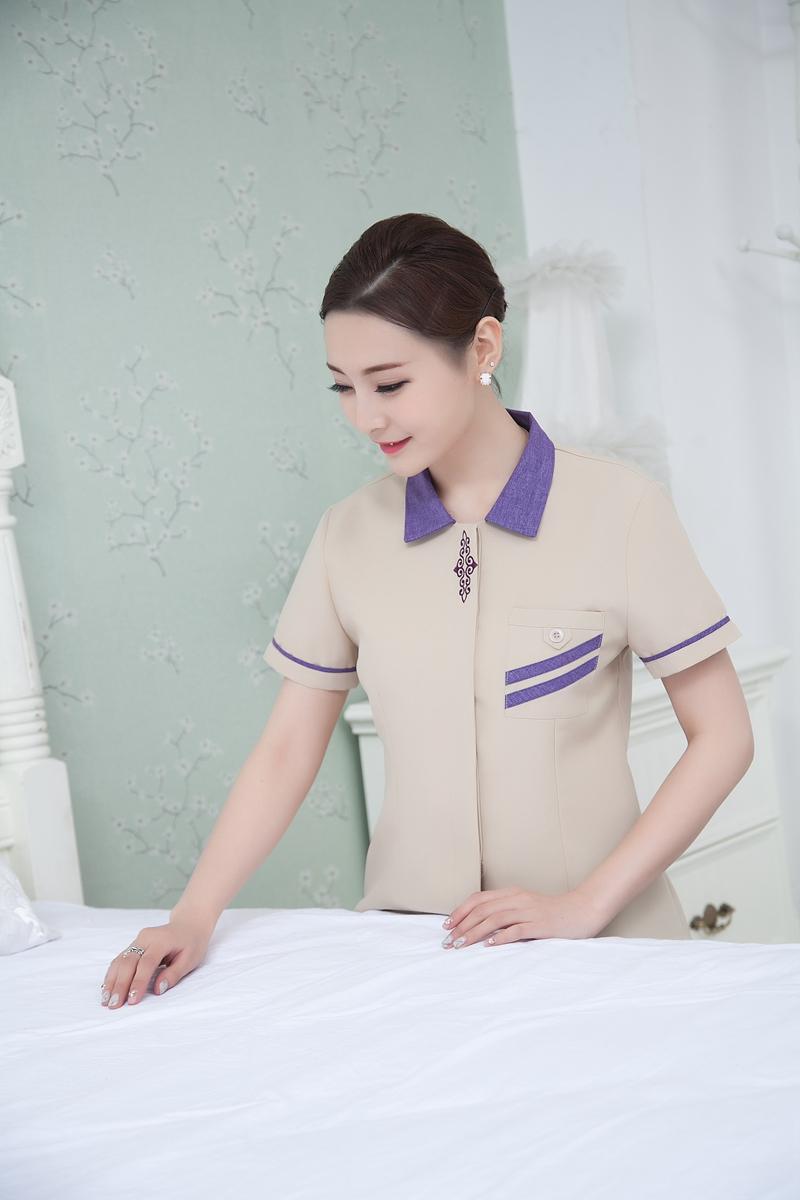 mẫu đồng phục tạp vụ buồng phòng khách sạn đẹp