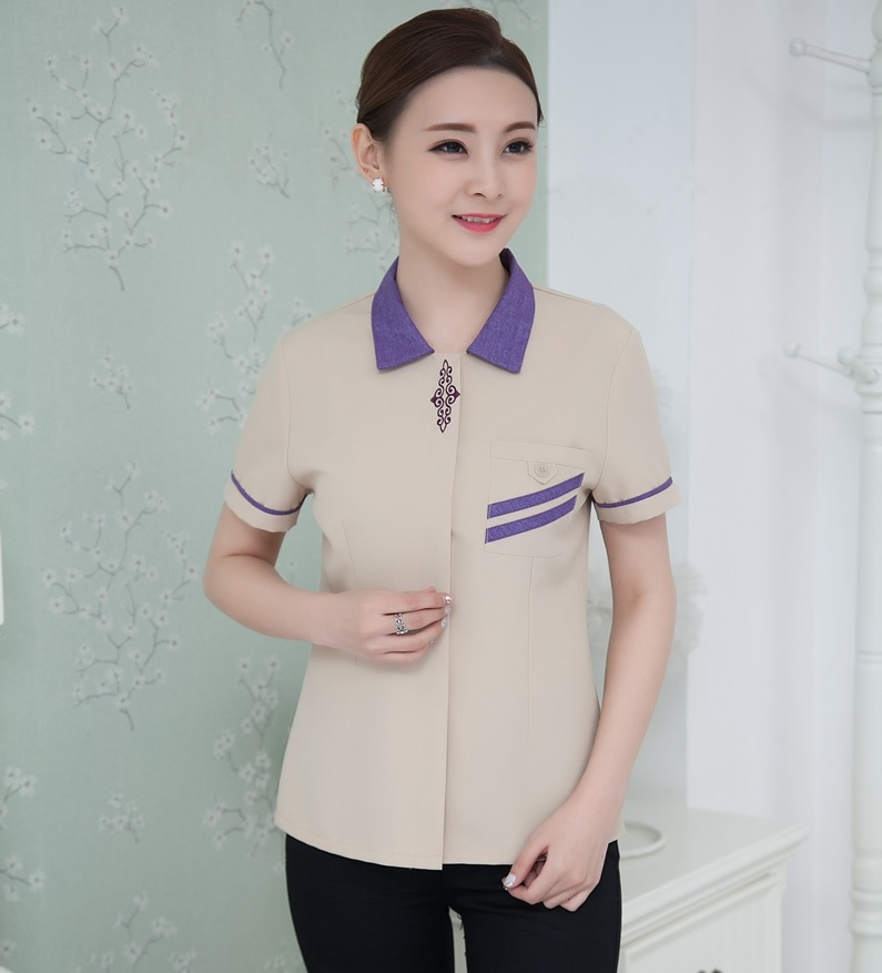 may đồng phục housekeeping đẹp