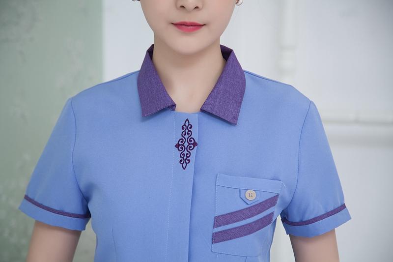 mẫu đồng phục hosekeeping đẹp