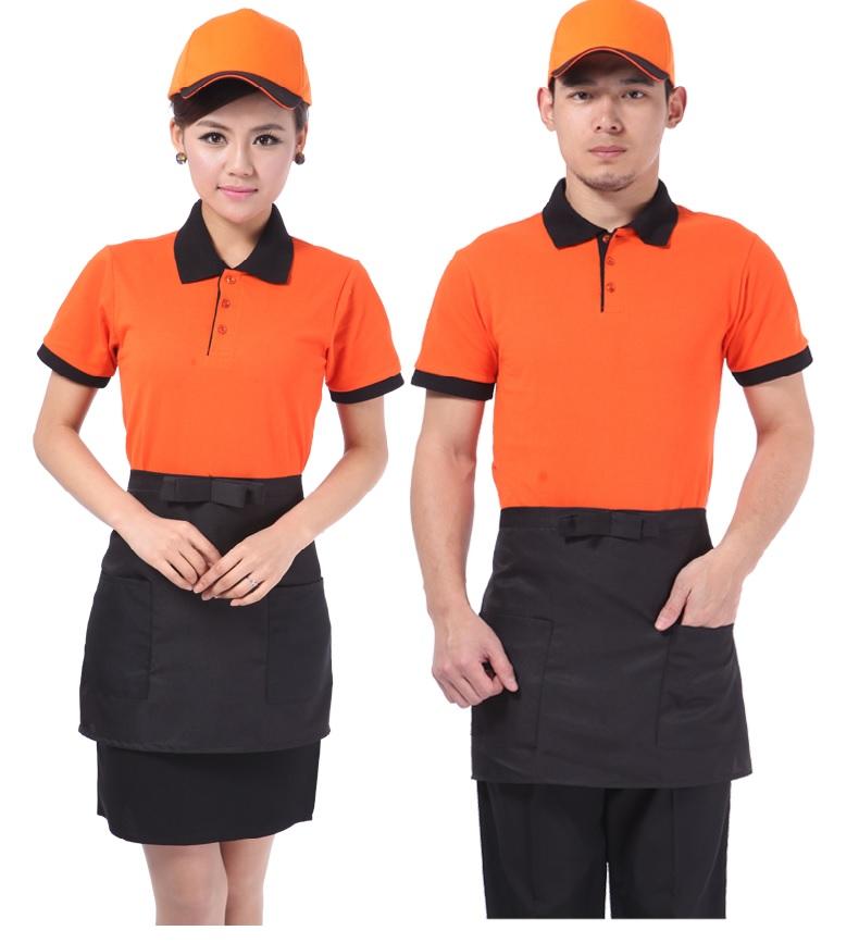 may đồng phục áo phông quán cafe