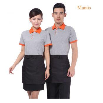 Mẫu áo phông đồng phục nhân viên cafe