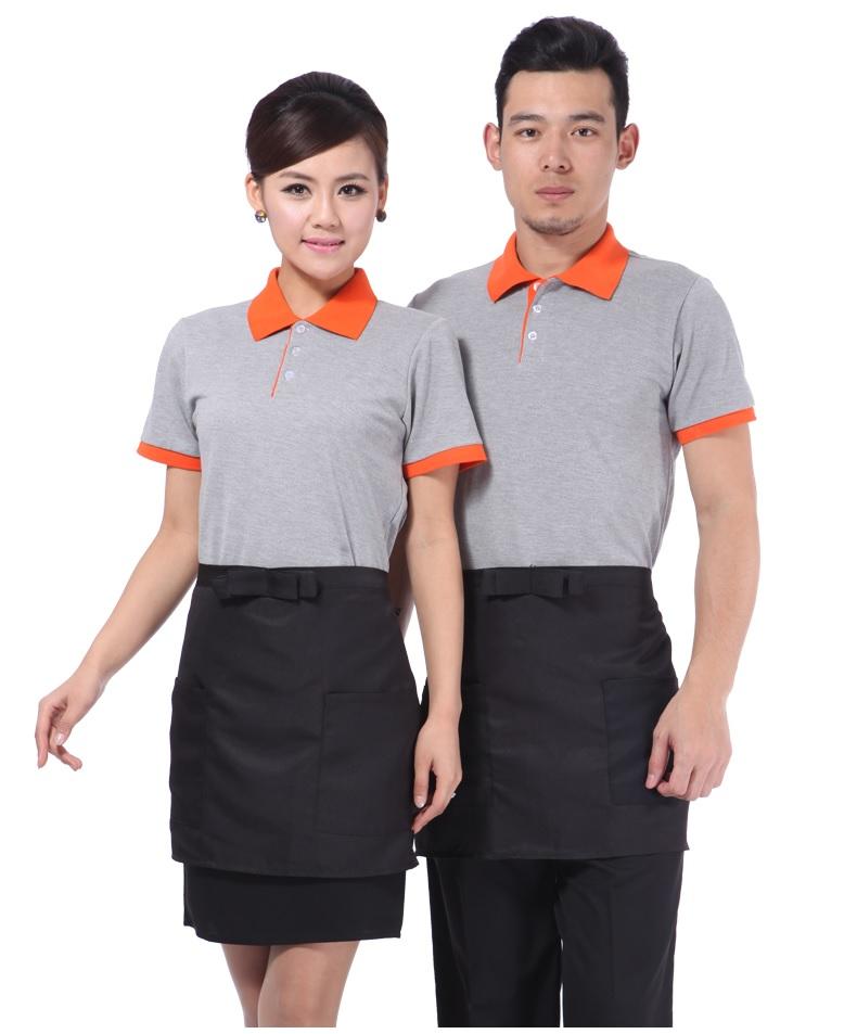 may áo phông đồng phục nhân viên cafe
