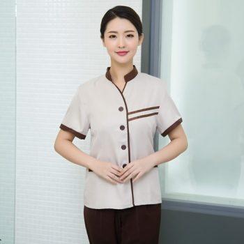 Trang phục buồng phòng khách sạn đẹp, may đồng phục buồng phòng