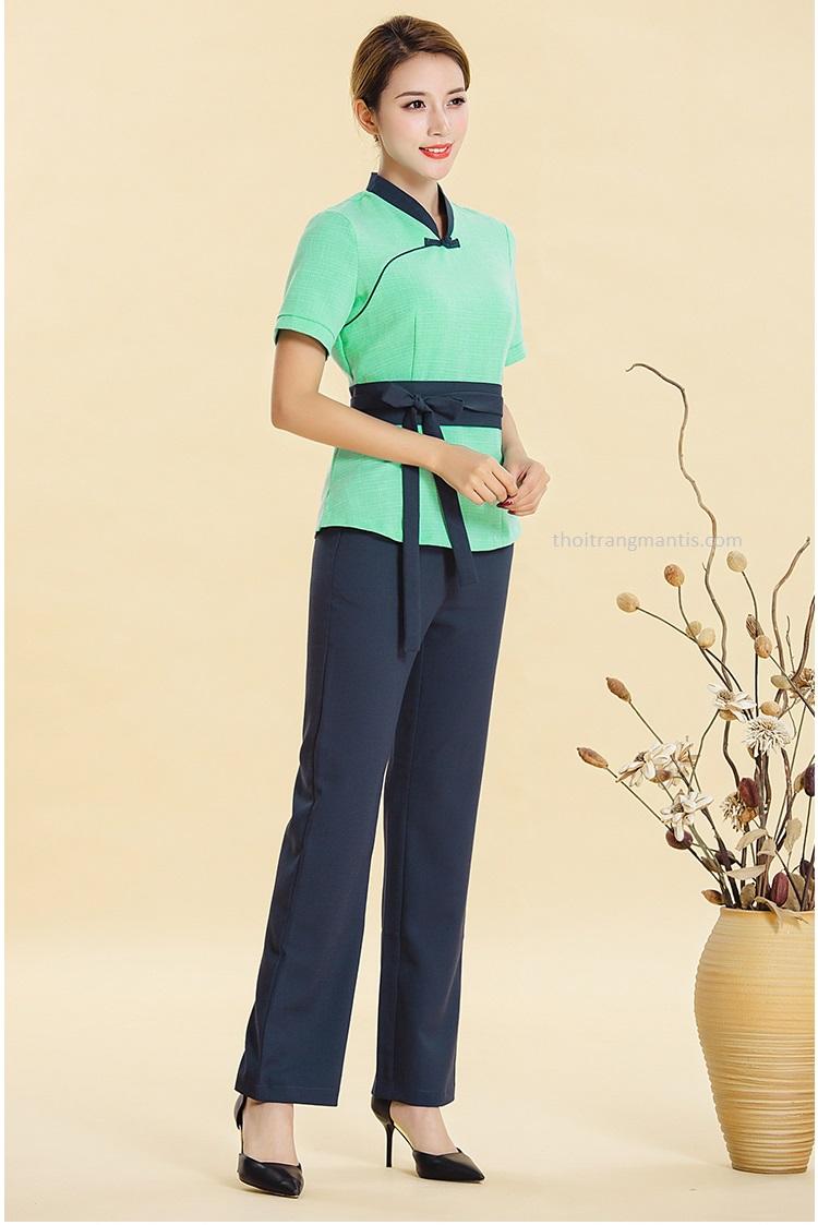 Quần áo cho nhân viên spa