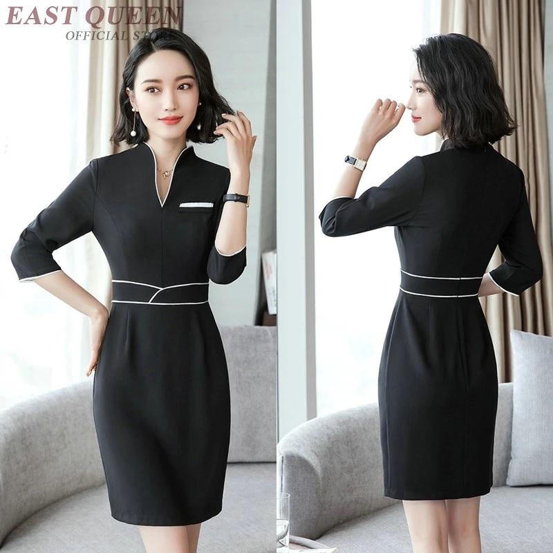 Thiết kế váy đồng phục quản lý spa