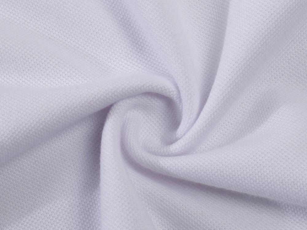 áo thun viền cổ tay với chất liệu vải lacoste TC