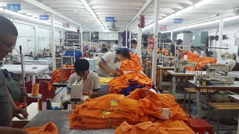 Xưởng may áo phông đồng phục công ty