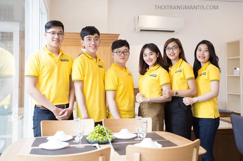 Áo phông đồng phục công ty - văn hóa doanh nghiệp