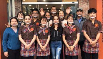 Mantis tự hàng cung cấp đồng phục nhà hàng khách sạn chuyên nghiệp tại Quảng Ninh