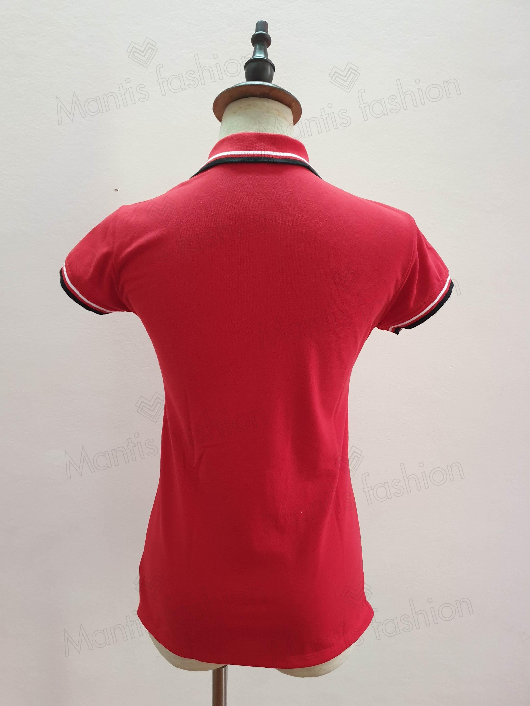áo thun đồng phục công ty mầu đỏ đẹp