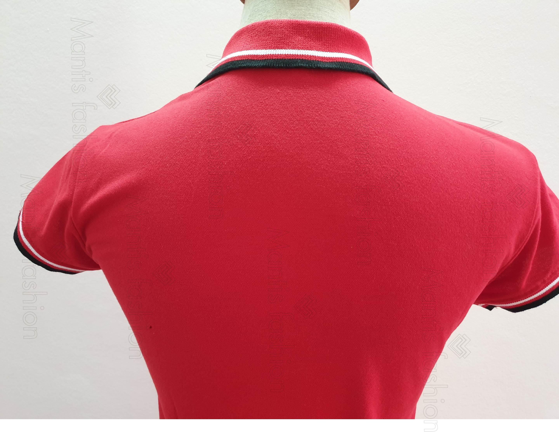 áo thun đồng phục đỏ đẹp