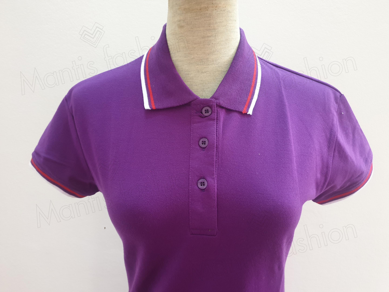 bán áo phông nữ đẹp mầu tím