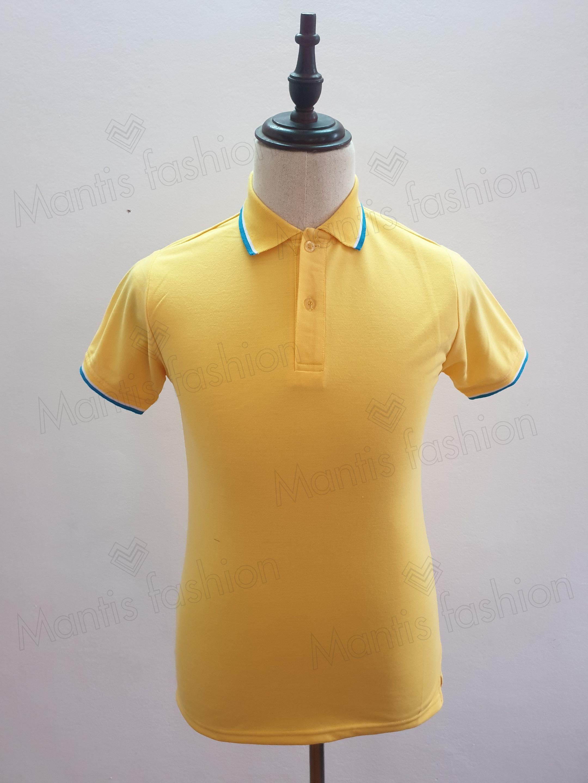 sỉ áo thun nam nữ mầu vàng